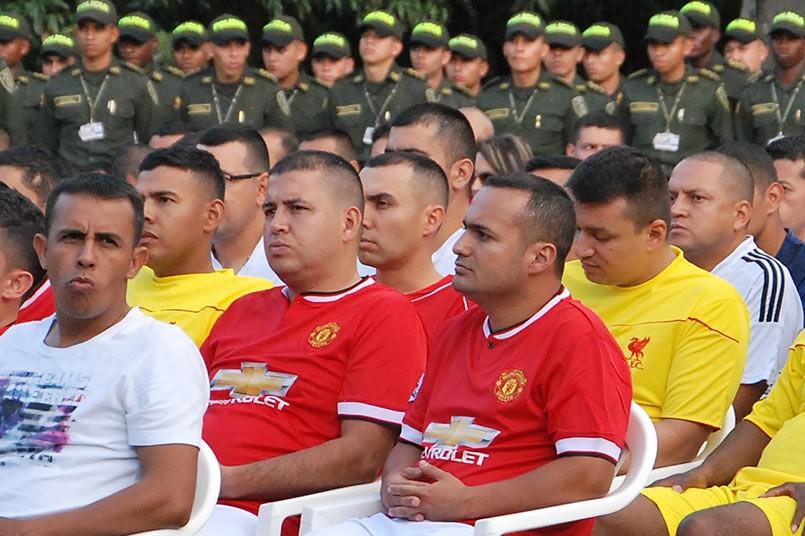 El torneo interno de fútbol está conformado por 24 equipos