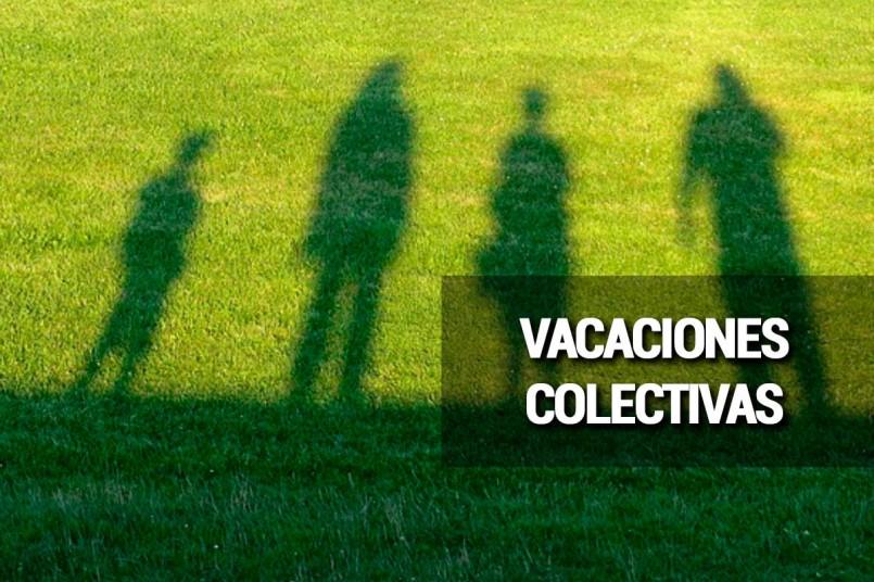 Llegan las vacaciones colectivas