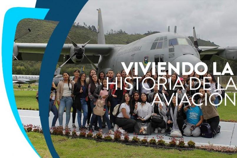 Grancolombianos aprenden de aeronaves