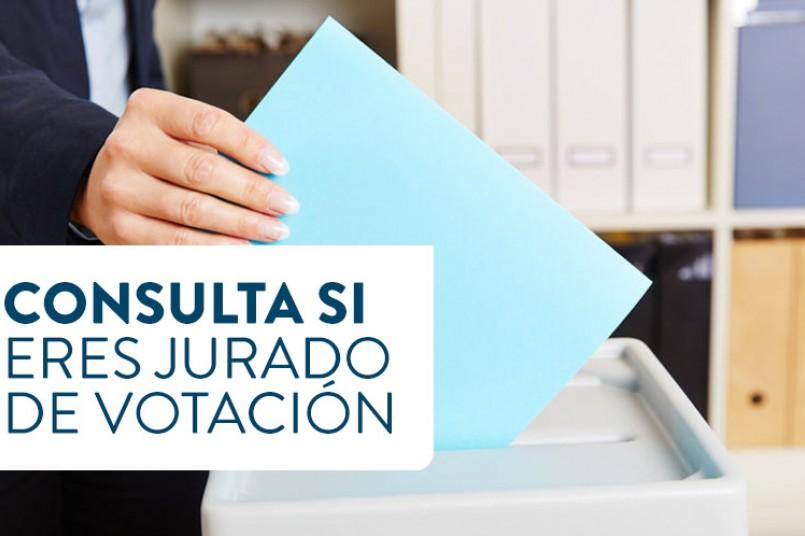 ¿Sabes si eres jurado de votación?