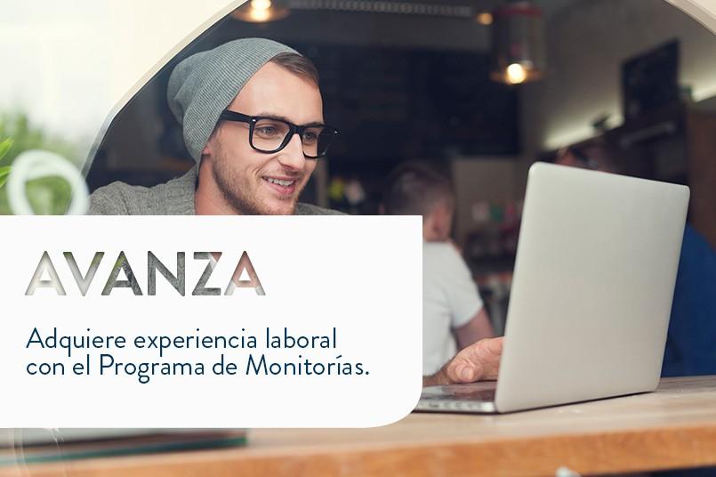 Beca + Experiencia laboral = Programa de Monitorías