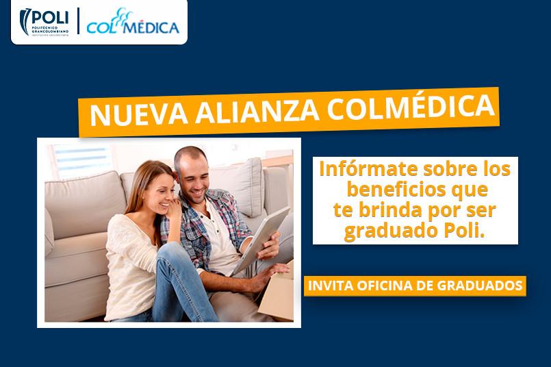 Colmédica, una nueva alianza que tenemos para ti.