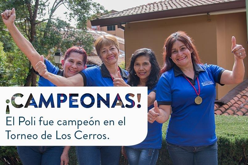 ¡Felicitaciones a nuestras campeonas!