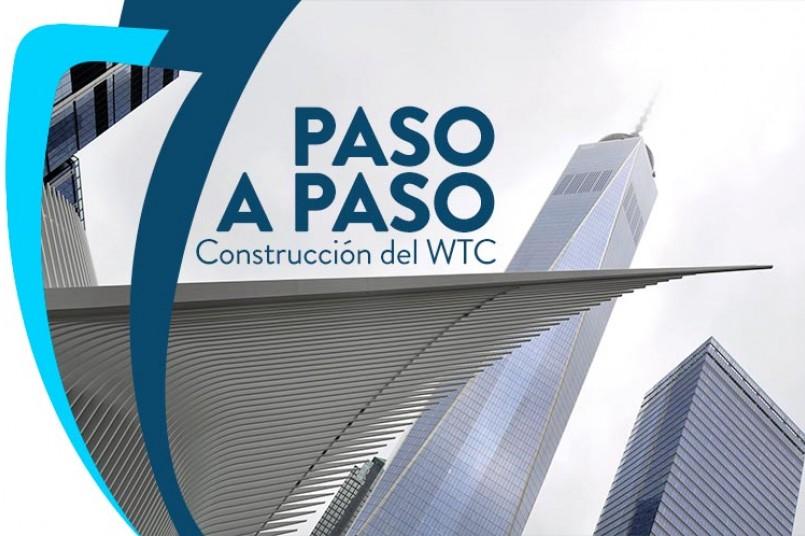 Inspección de calidad en la construcción de la Terminal del World Trade Center en Nueva York.