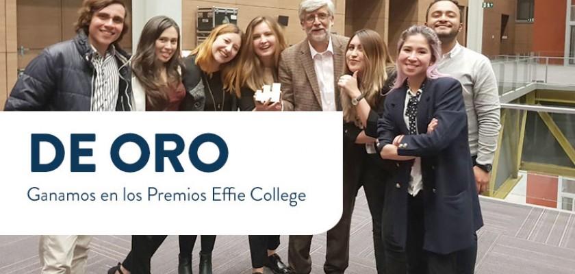 Ganamos en los Premios Effie College