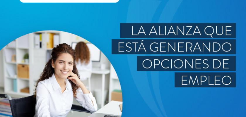 La alianza del Poli y el Portal Inclúyeme está generando opciones de empleo