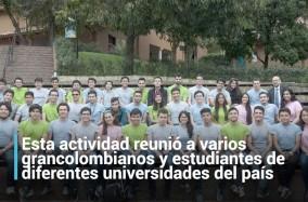 Esta actividad reunió a varios grancolombianos y estudiantes de diferentes universidades del país