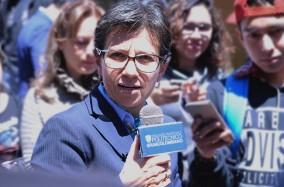 Claudia López dialogó con los grancolombianos sobre corrupción
