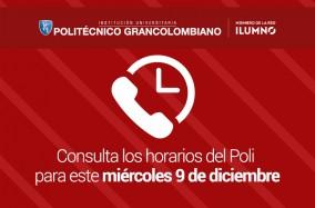 Este 9 de diciembre el Poli no prestará atención al público