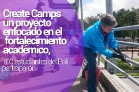Limpieza en Bogotá, otra iniciativa de Create Camps