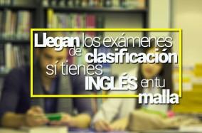 PRIMERA SESIÓN DE EXÁMENES DE CLASIFICACIÓN DE INGLÉS PARA PROGRAMAS CON INGLÉS