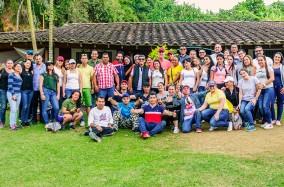 Día de sol e integración en el #PoliMedellín, funcionarios
