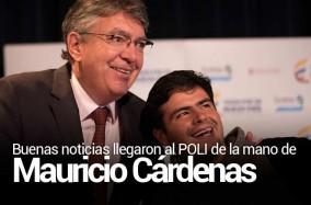 Buenas noticias llegaron al POLI de la mano de Mauricio Cárdenas