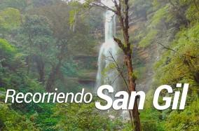 Grancolombianos aprenden, recorriendo San Gil