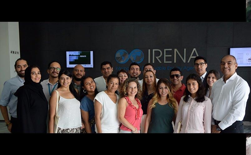 Visita a  la Empresa Irena por estudiantes y docentes